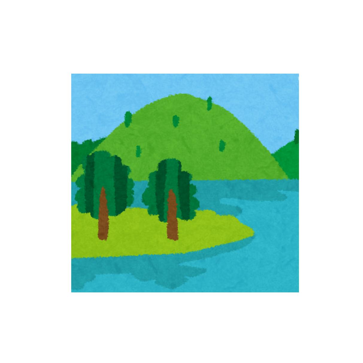 虞山と尚湖