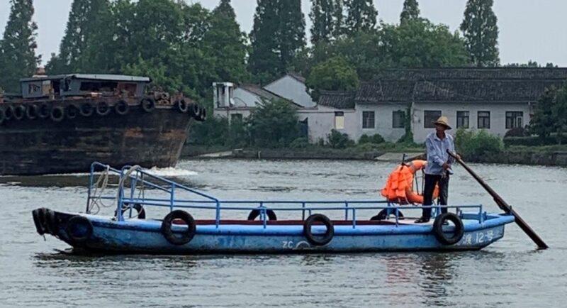 河姆渡の渡し舟