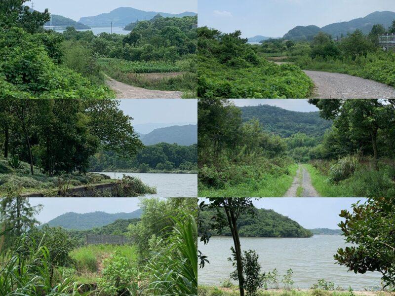 河姆渡遺跡周辺の風景