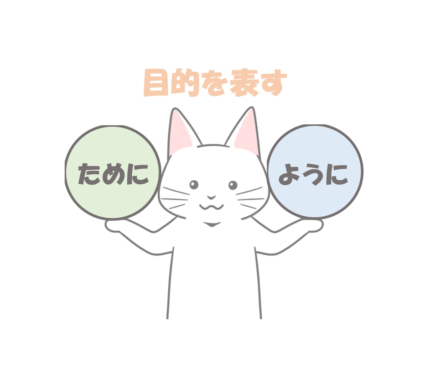 ために、ように猫