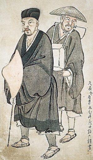 松尾芭蕉と曾良