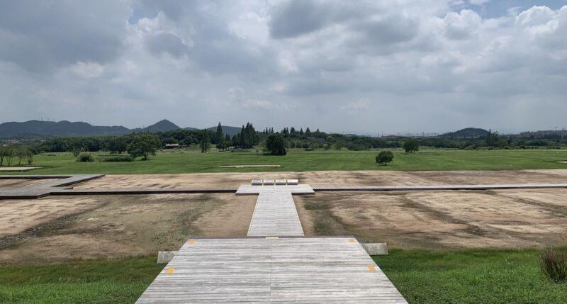 宮殿跡からの眺め