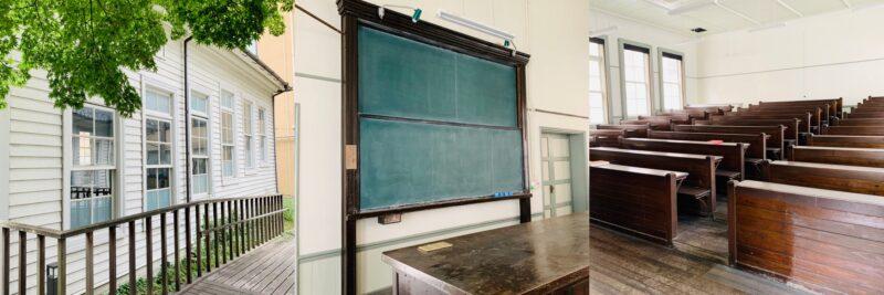 魯迅の階段教室