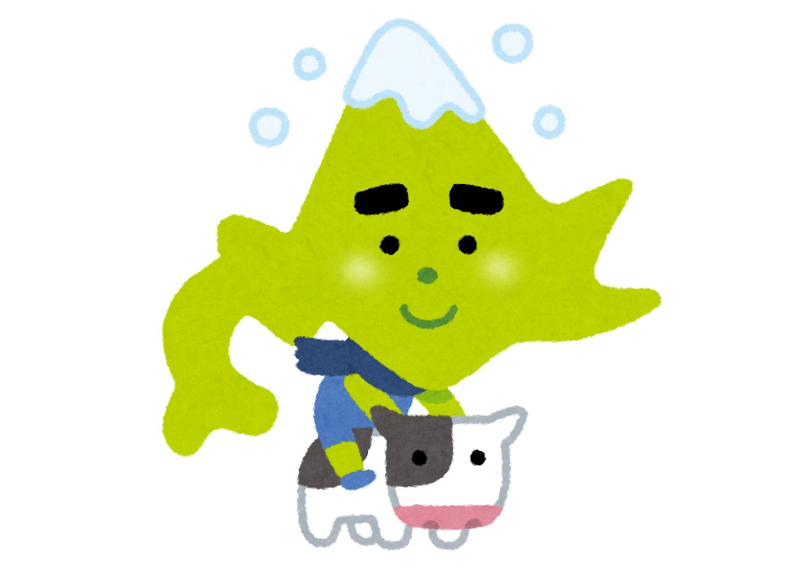 北海道と牛
