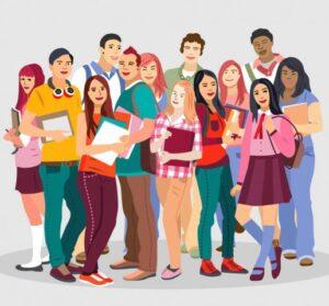 留学生たち