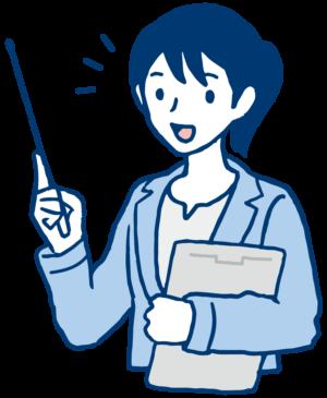 日本語教師女性