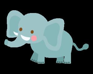 鼻が長い象
