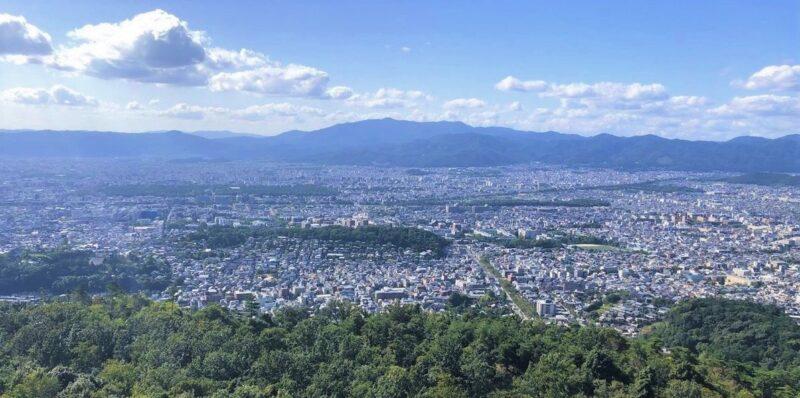 京都大文字山